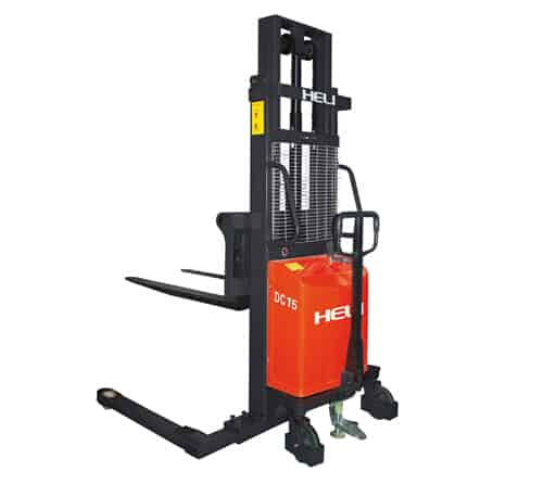 HELI CDD14-920 AC Electric Powered Straddle Stacker
