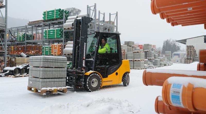 Winter Forklift Service from Scot Truck Forklifts