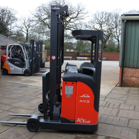 2011 Linde R12CS Reach Truck