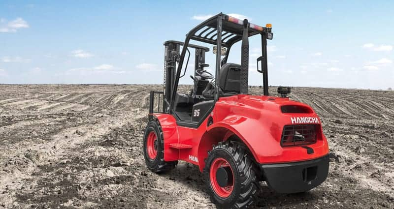HC Rough-terrain forklift from Diamond Forklifts