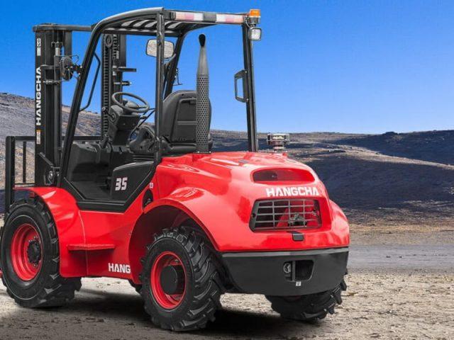 RTFL's – Forklifts for all-terrain applications