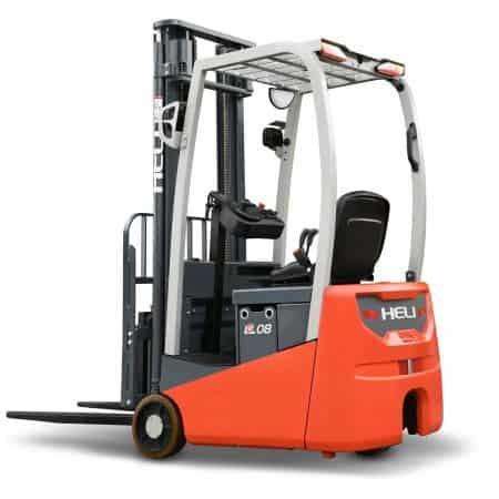 3 Wheel Electric Lead Acid & Lithium-ion 0.8 – 1.2t  24v Counterbalance Forklift